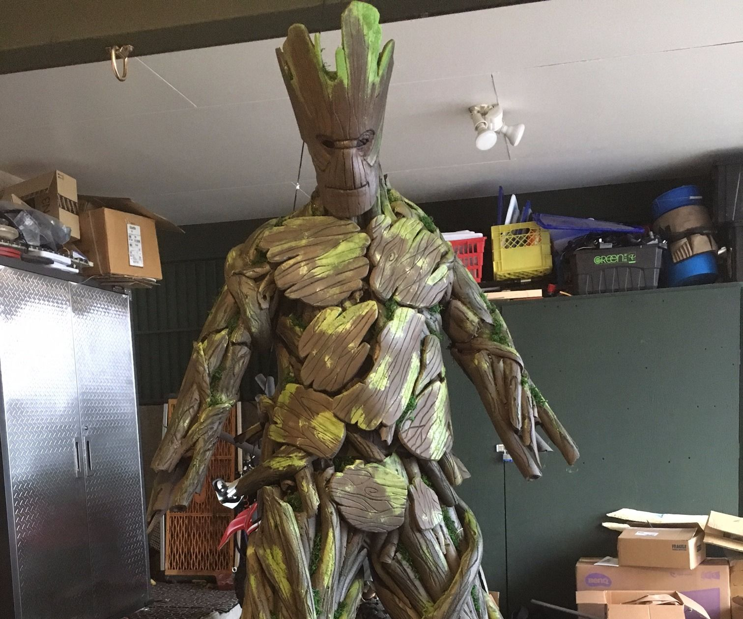 DIY Groot Guardians of the Galaxy Costume - I AM GROOT!