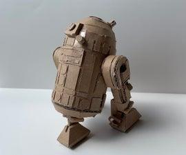 Cardboard R2-D2 Model