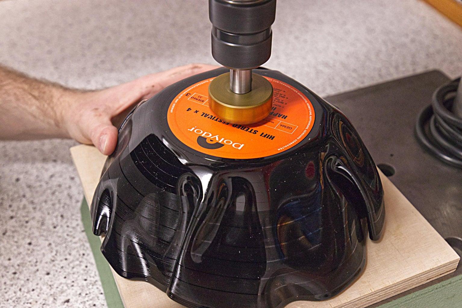 Borehole for Lamp Socket
