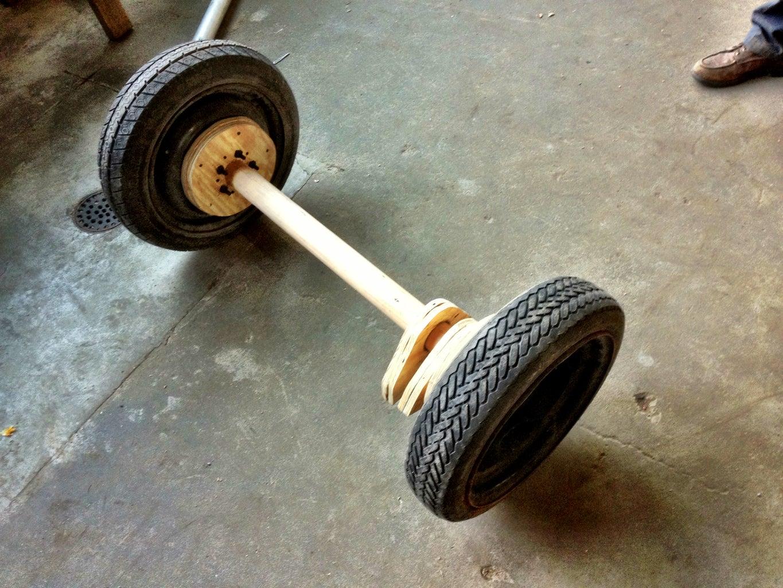 Wooden Axle