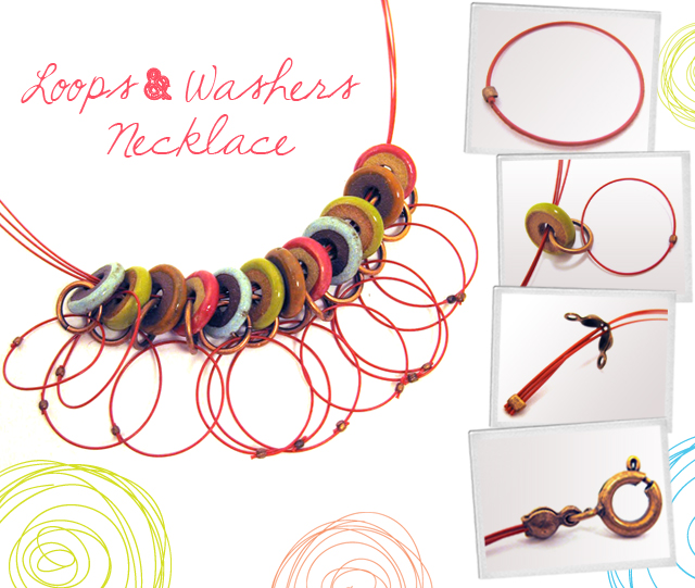 Loops & Washers Necklace