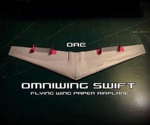 如何制造无所不能的雨燕纸飞机