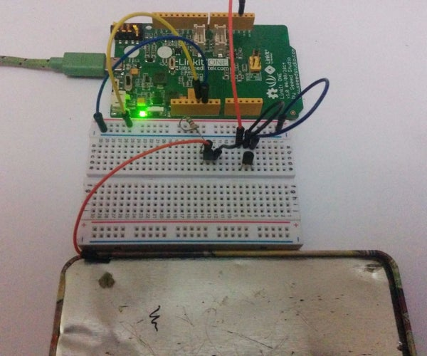 Touch Switch Using the Linkit One