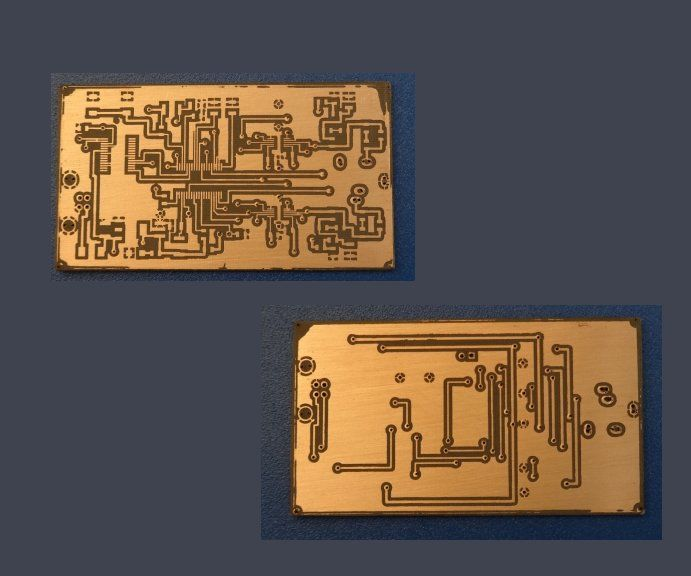 DIY Double-Sided Fine-Pitch PCB's