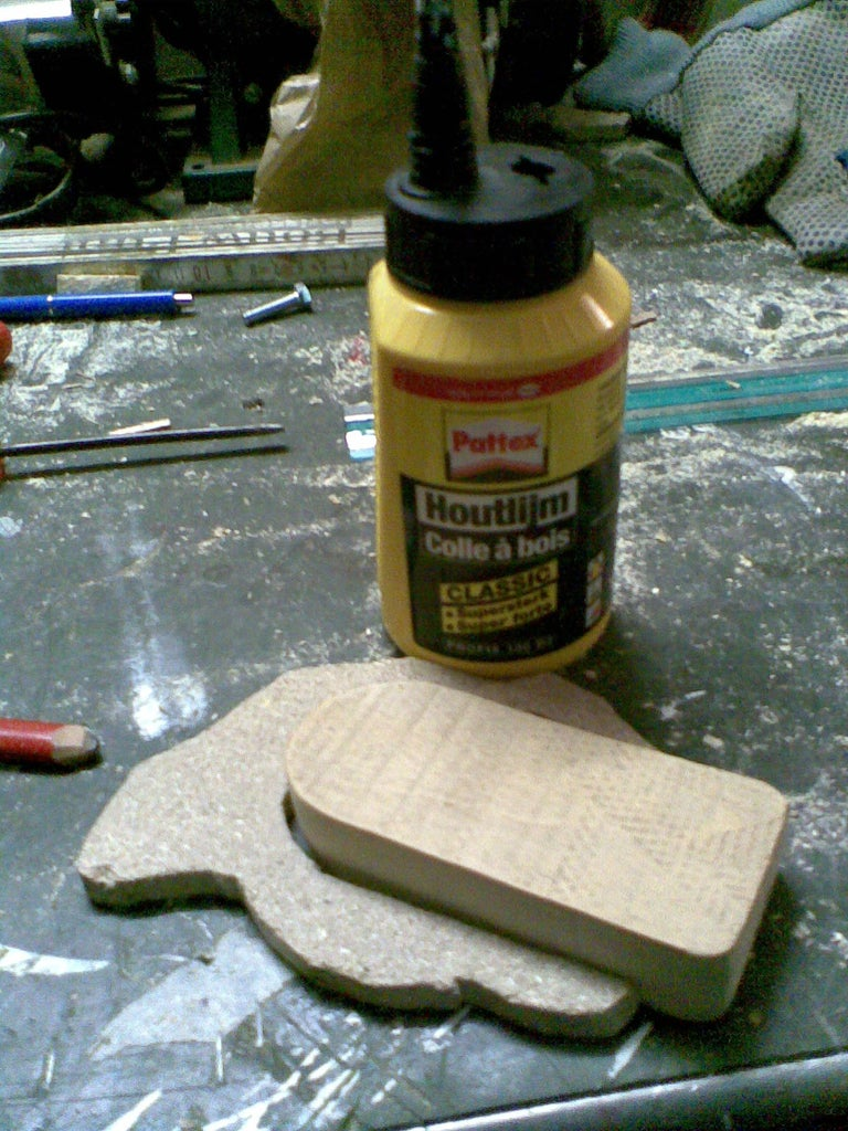 Glueing Both Pieces Together