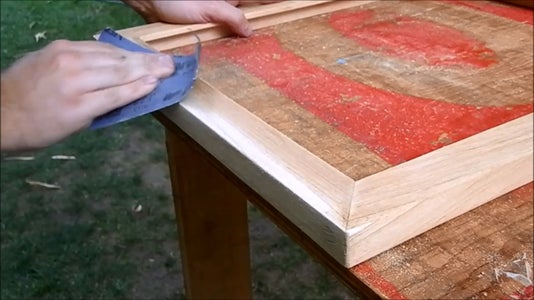 Making the Frame (part 3 - Finishing Touches)