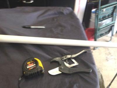 PVC Cutting and Prep