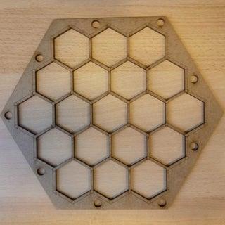 Laser Cut Settlers of Catan Board