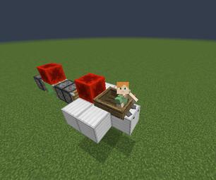 Minecraft Slime Rocket Ship!