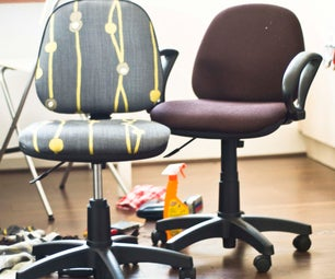 Give Those Old Desk Chairs New Life!