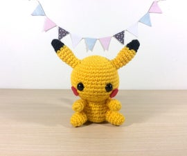 Crochet Pikachu Toy