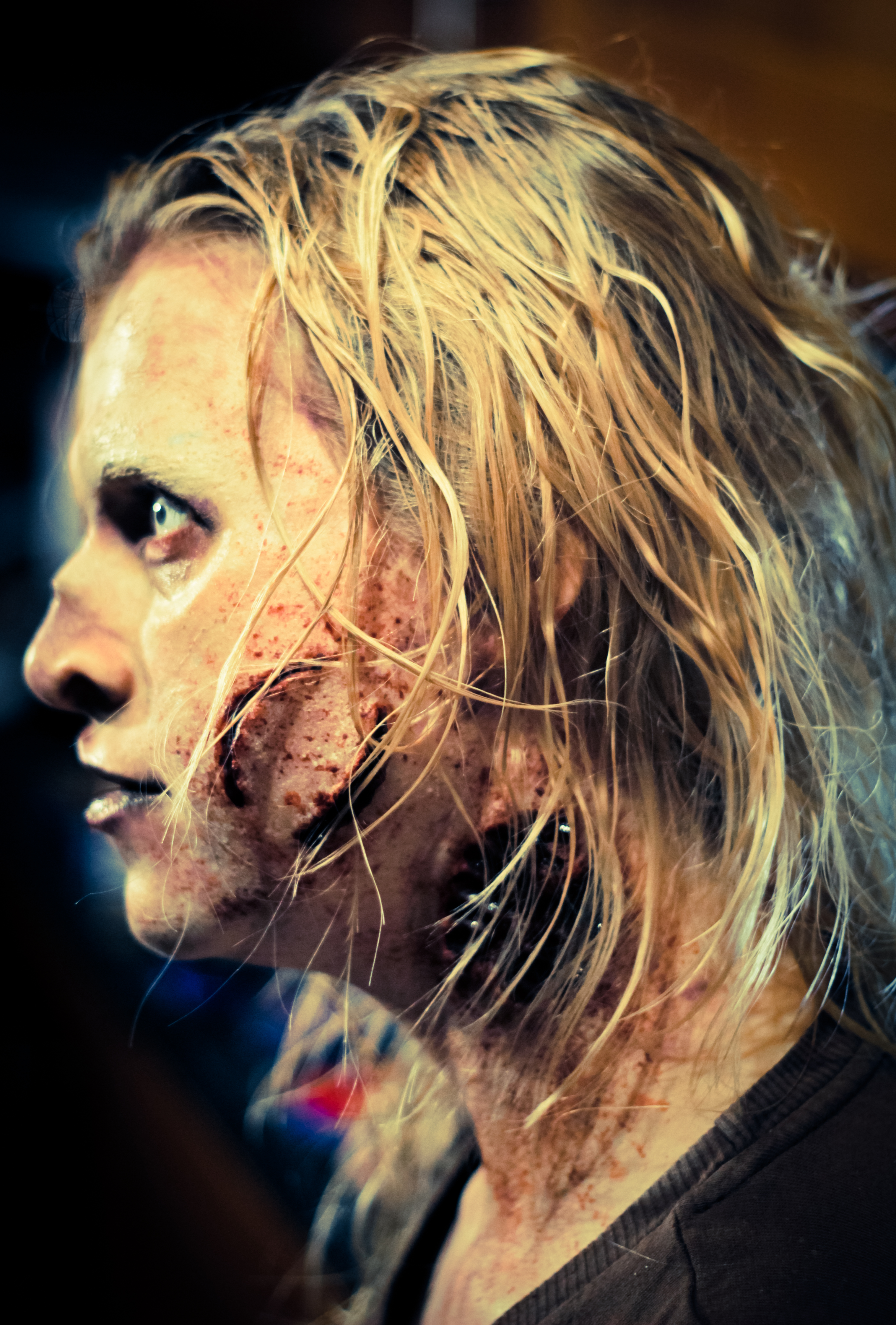 Walking Dead Style Zombie Make-up How To