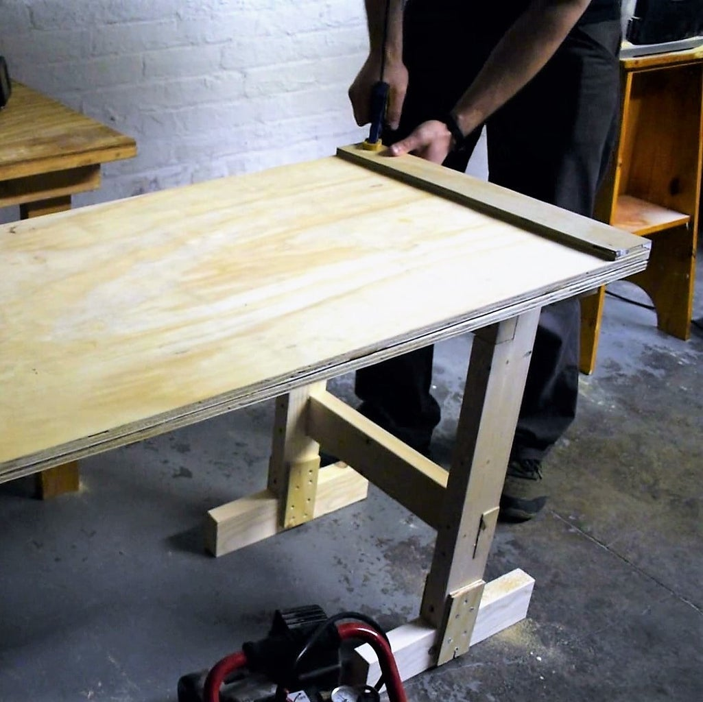 Glue Up the Table Top