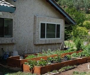 Redwood Garden Beds