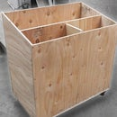 DIY Mobile Lumber Cart
