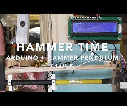 Hammer Time / Arduino + Hammer Pendulum Clock