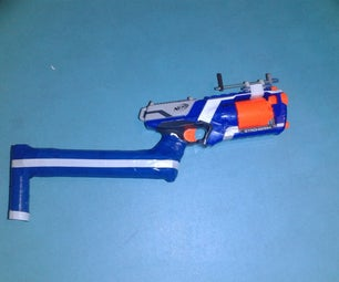 Nerf Strongarm Scrap Stock and Attachment System