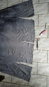 Torn Hooded Cloak