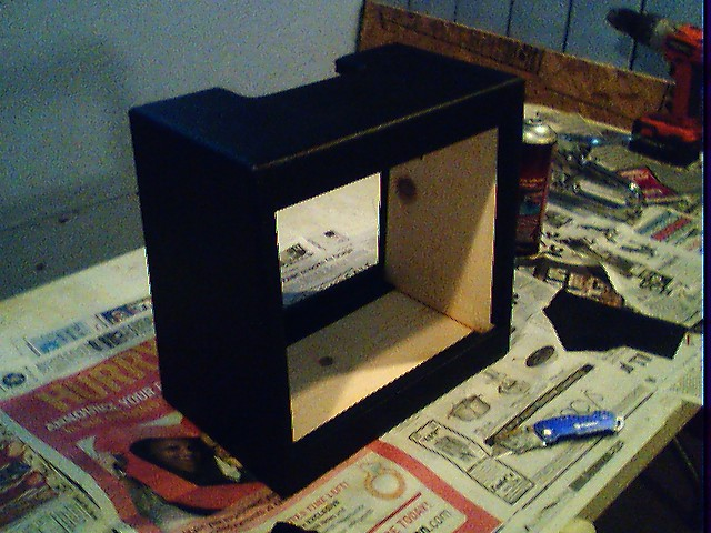 Covering a guitar speaker cabinet with TOLEX