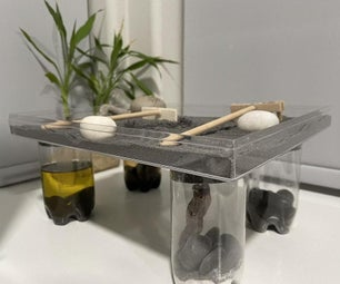 Magnetic Recycled Zen Sand Table