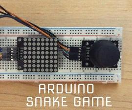 Arduino Snake Game