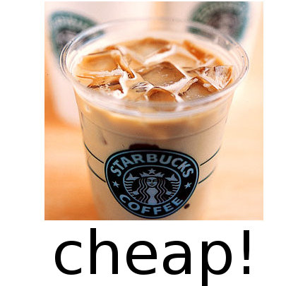 How to get huge discount on a Starbucks Iced Latte without doing anything shady