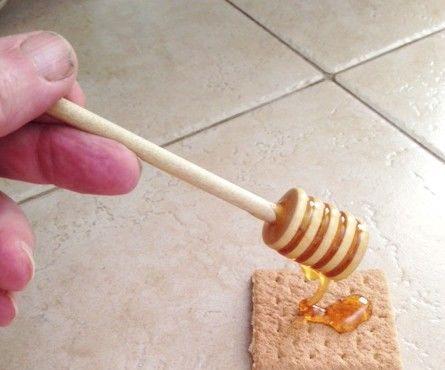 No Lathe Honey Dipper