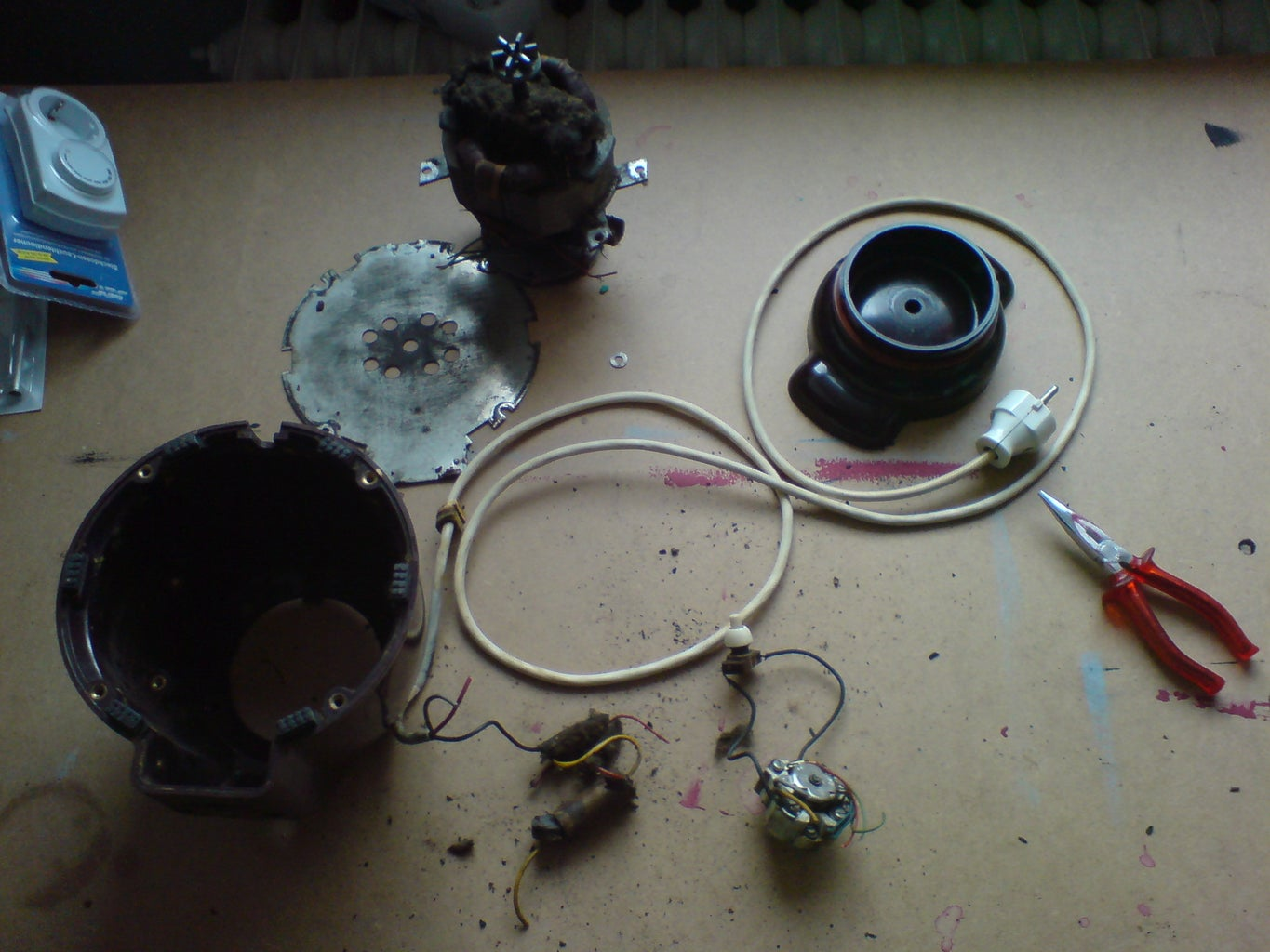 Disassembling and Cleaning