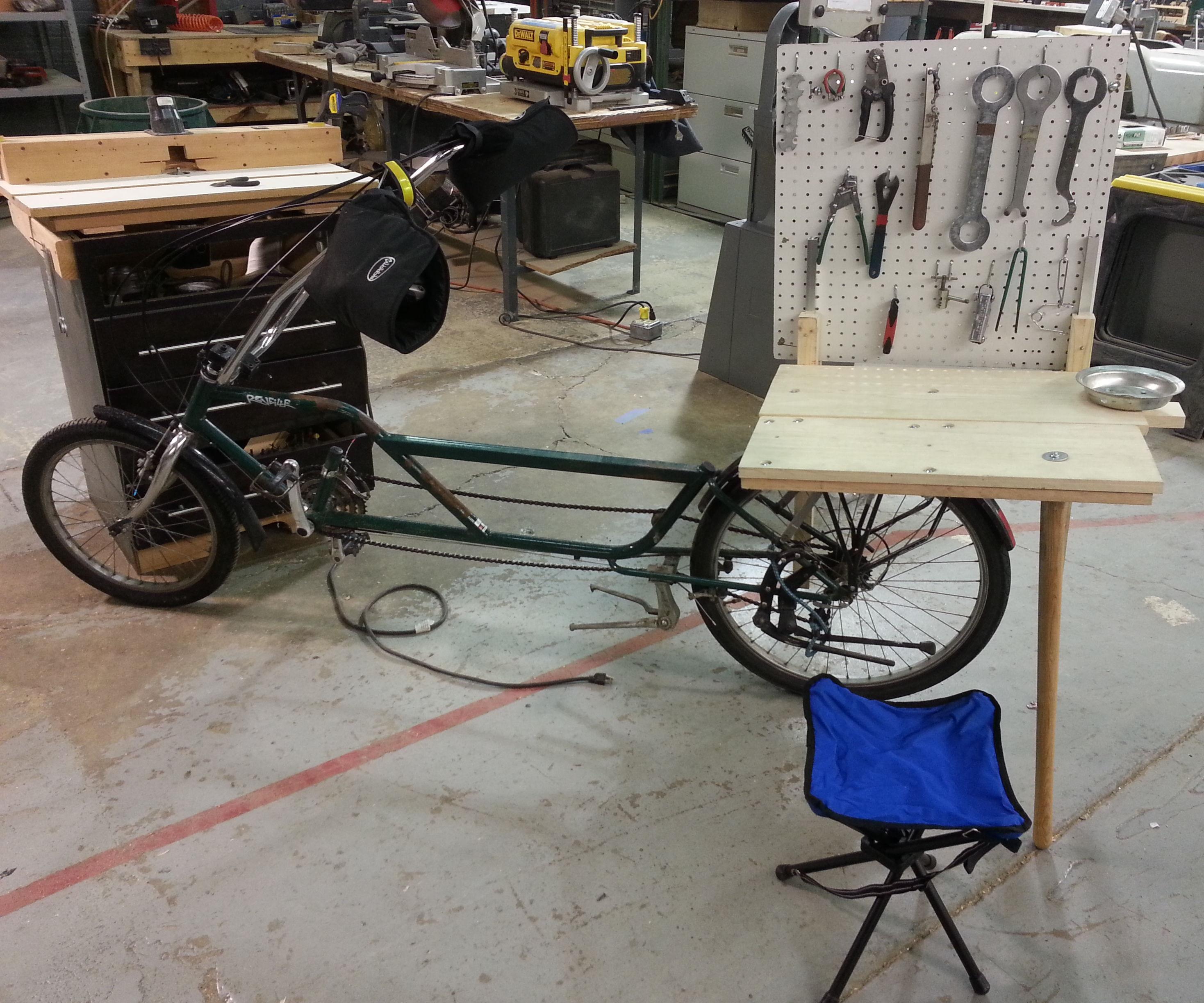 Portable Bicycle Repair Station