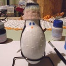 Transforming an old Lamp in a beautiful Penguin