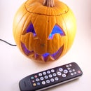 Remote control color changing pumpkin