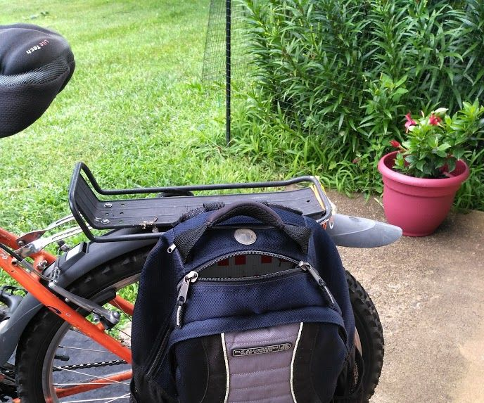 Bicycle Panniers From Backpack