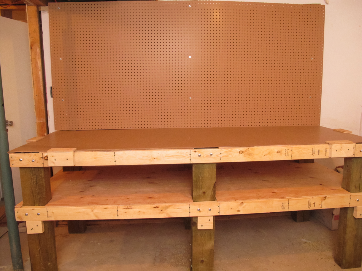Heavy Duty Workbench With Loads of Storage