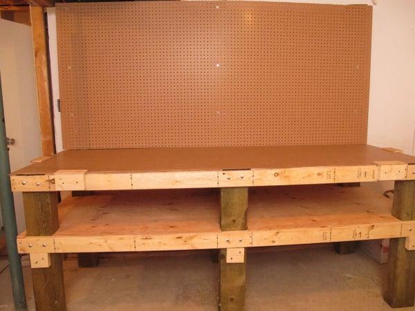 Heavy Duty Workbench With Loads of Storage