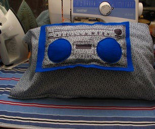 SewUseful Plushie Personal Boom-box / Goodnight Pillow