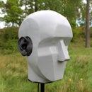 Binaural head for stereo recording