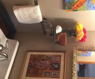 回收改造——DIY盥洗室更新费用低于100美元