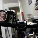 O-Ring Flashlight Mount From a Reflector
