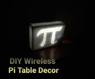 DIY无线PI表装饰