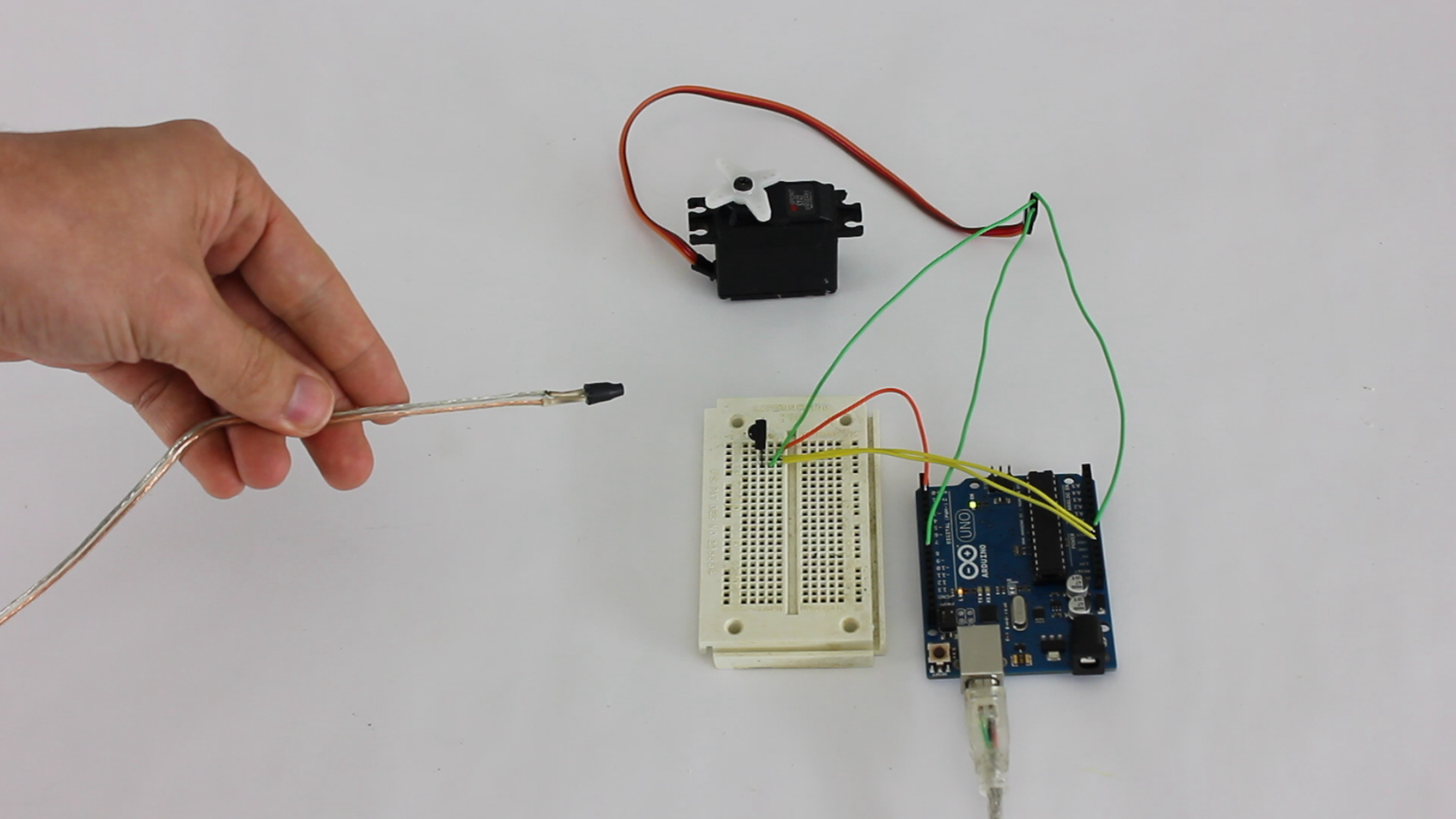 Use Your Remote to Activate a Servo