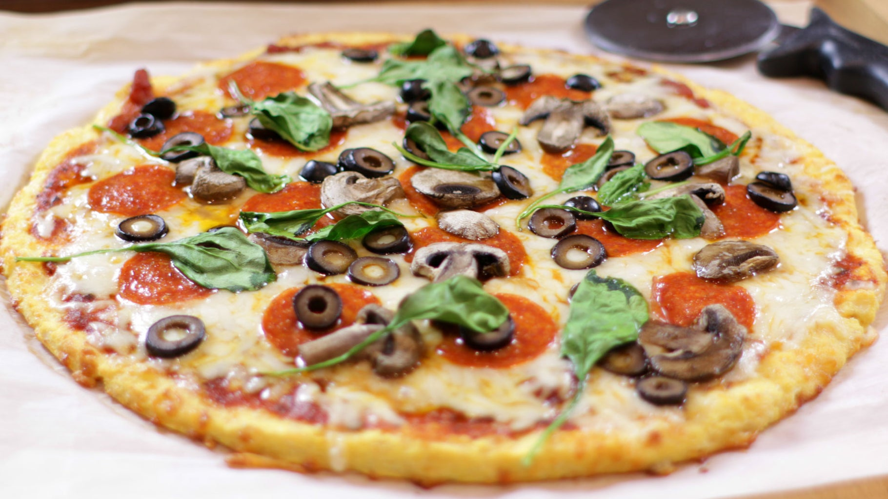 Keto Pizza (Gluten Free and Low Carb)