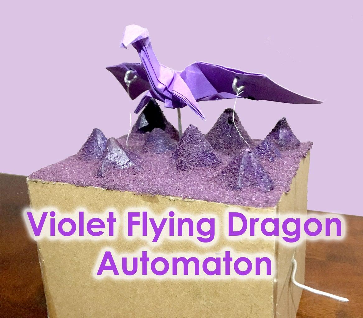 Violet Flying Dragon Automaton