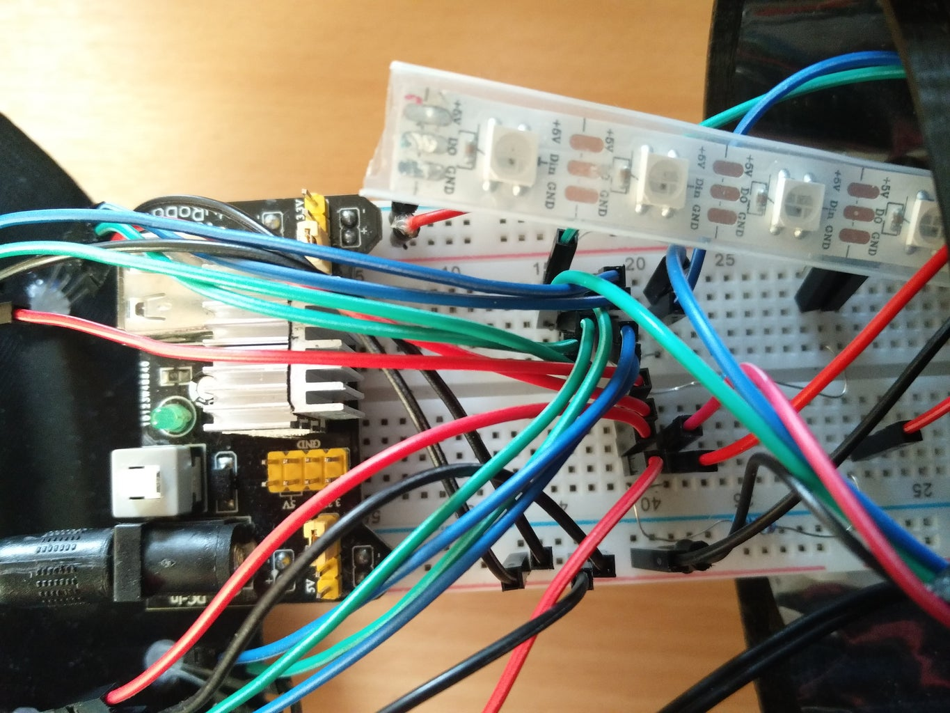 Assembling the Components (testing Phase)