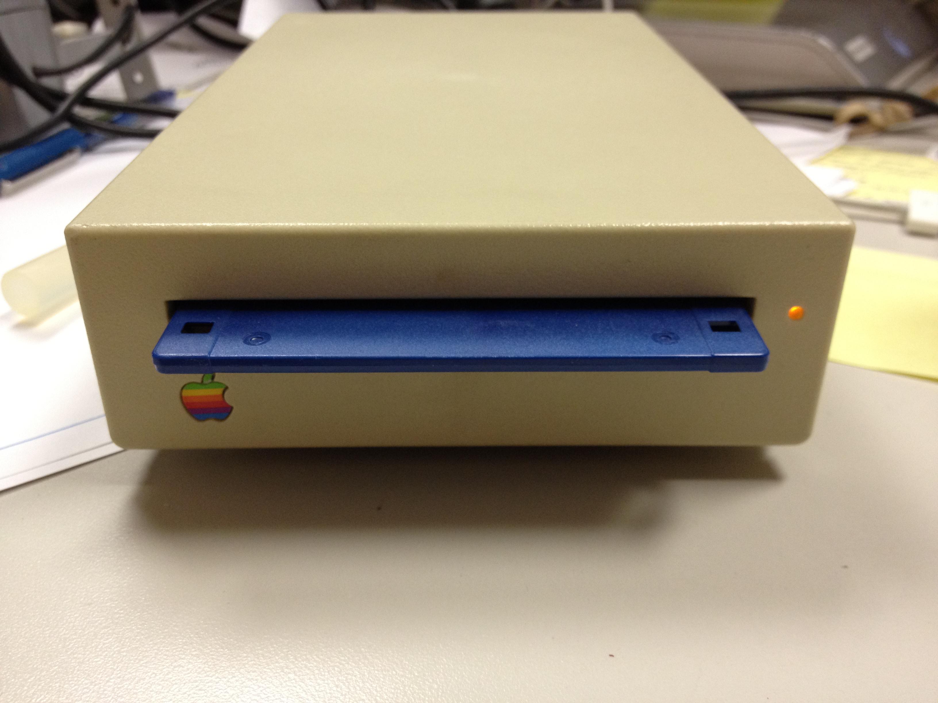 Retro Apple Disk Drive as HDD Enclosure