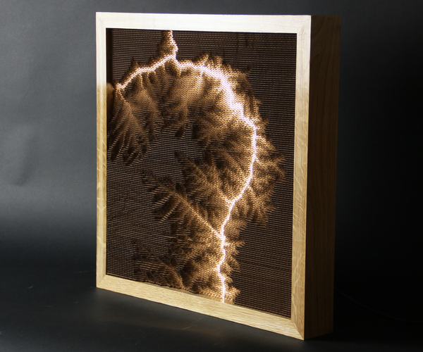 Topographical Lamp