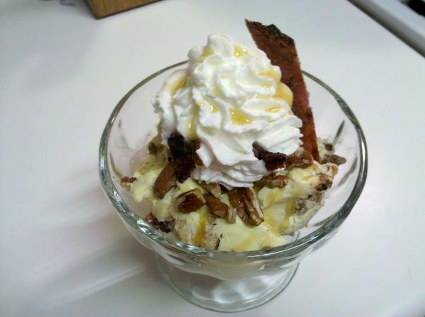 Pancake Breakfast Ice Cream Sundae