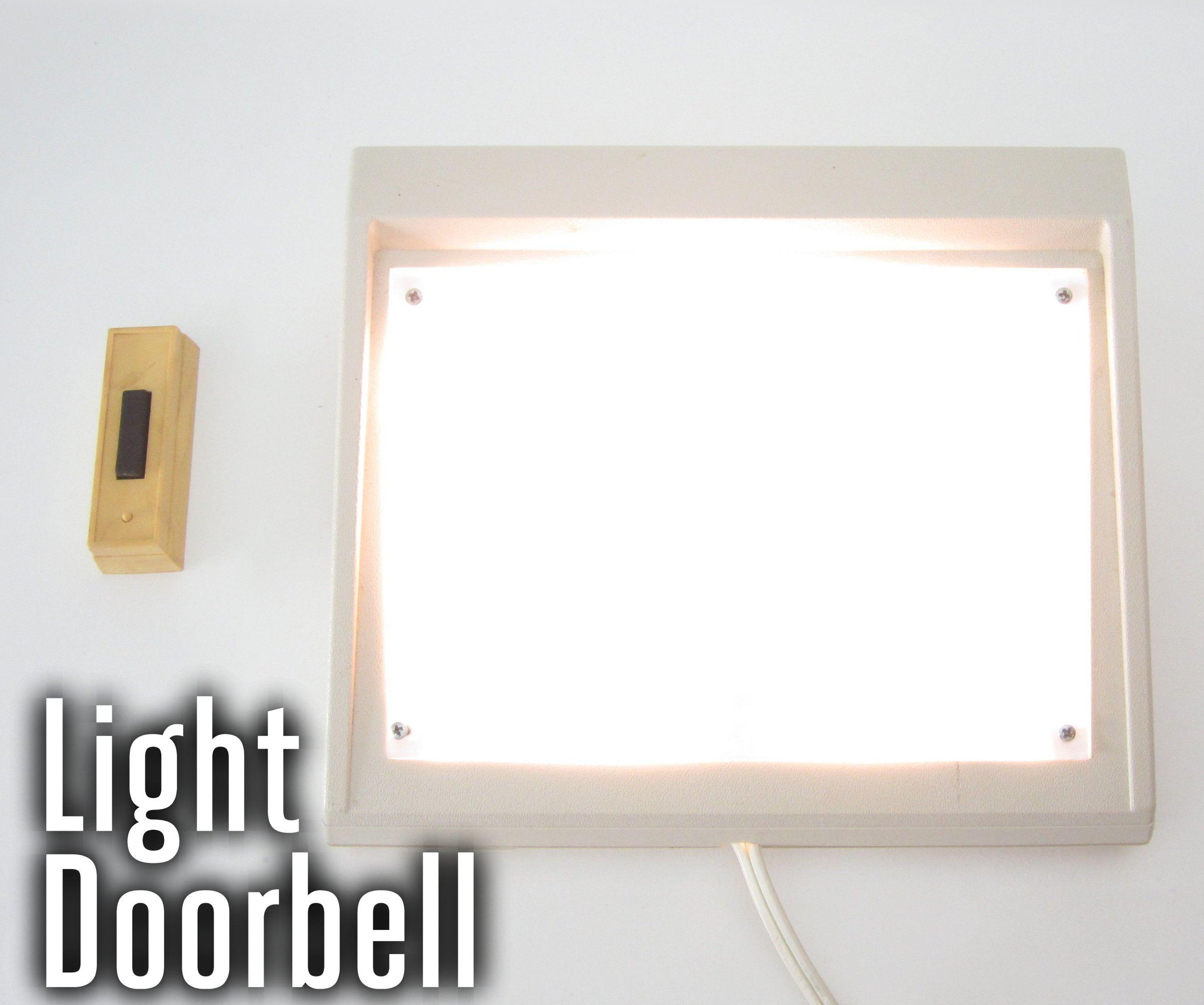 Doorbell that Turns on a Light