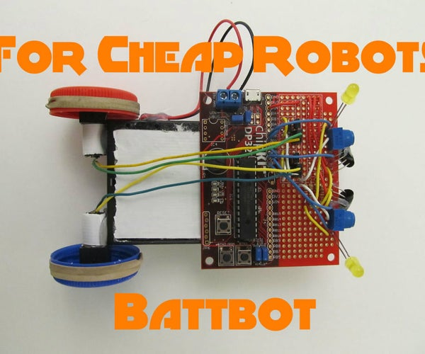 More Chassis for Cheap Robots 1: Battbot