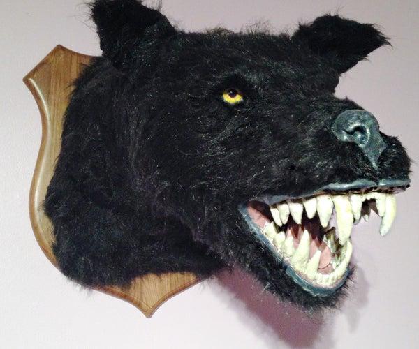 Werewolf Taxidermy Head