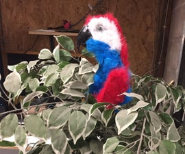 Niles the Animatronic Parrot